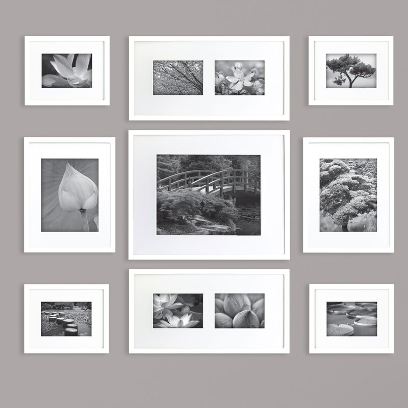 Gallery Perfect 9 Piece Picture Frame Set & Reviews   Joss & Main