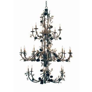 2nd Ave Design Pinecone 24-Light Chandelier