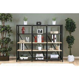 Roux 4 Tier Etagere Bookcase by Gracie Oaks