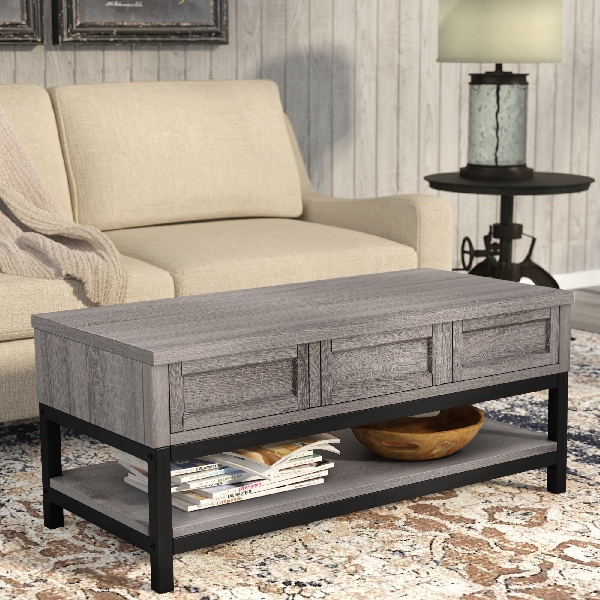 Coffee Table Pick Up Line.Laurel Foundry Modern Farmhouse Omar Lift Top Coffee Table Reviews