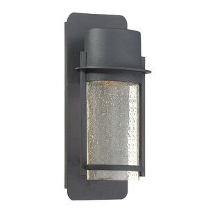 Price comparison Janke 1-Light Outdoor Sconce By Latitude Run