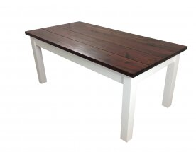 Solid Wood Dining Table by Ezekiel and Stearns Savings
