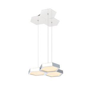 Arvizu 3-Light LED Novelty Chandelier by Ivy Bronx