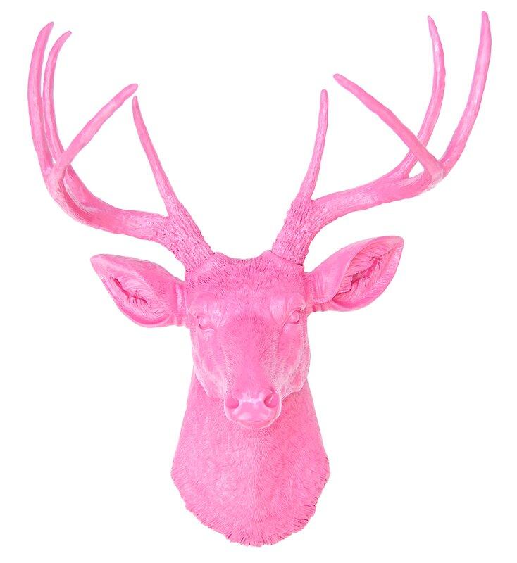 Deer Head Wall Decor near and deer faux taxidermy deer head wall décor & reviews | wayfair