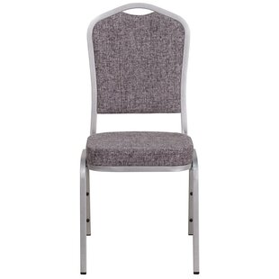 Buster Crown Back Stacking Banquet Chair by Latitude Run