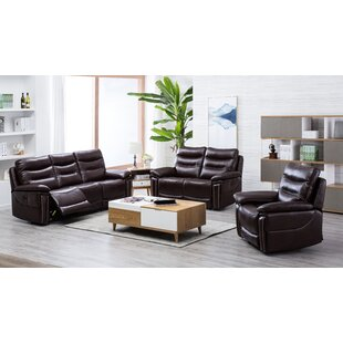 Andover Mills Chapin Reclining 2 Piece Living Room Set