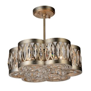 Nova 6-Light Semi Flush Mount by CWI Lighting