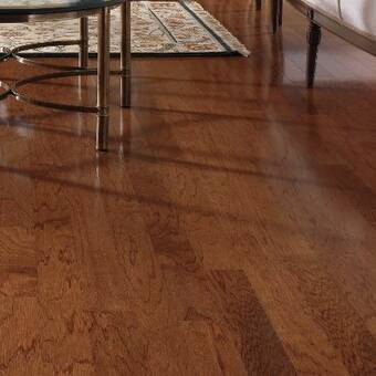 Easoon Usa South American Legends Brazilian Cherry 3 8 Thick X 3 5 8 Wide X Varying Length Engineered Hardwood Flooring Reviews Wayfair