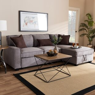 Hersh Right Hand Facing Sleeper Sectional by Winston Porter