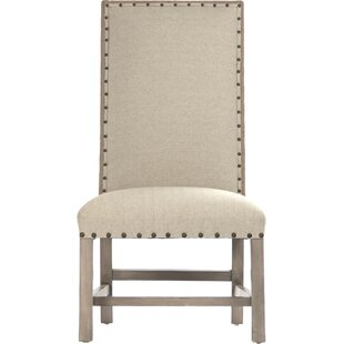Zentique Driftwood Upholstered Dining Chair