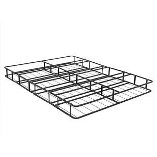 Alwyn Home Belz Fully Assembled Metal Platform Foundation Bed Frame