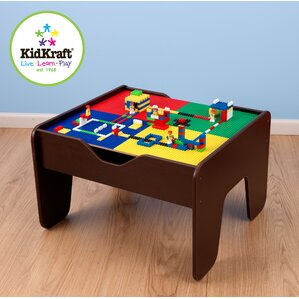 Activity 2 In 1 Kids Square Lego/Train Table