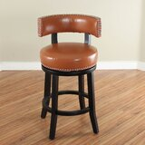 Cyril 26 Swivel Bar Stool by Alcott Hill®