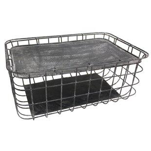 Metal Basket By Brambly Cottage
