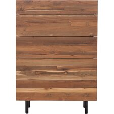 Teak 5 Drawer Chest by EQ3