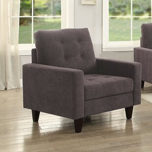 Xenia Fabric Upholstered Straight Club Chair