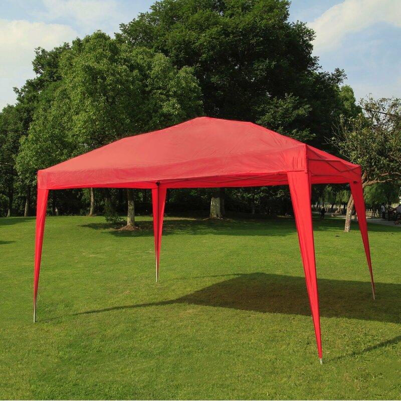 Sunriseoutdoorltd Wedding 13 Ft W X 10 Ft D Metal Party Tent Wayfair
