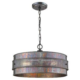 Thrasher 3-Light Drum Chandelier by Williston Forge