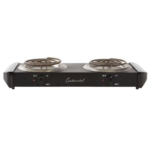 Continental Electric Foster Electric Double Burner