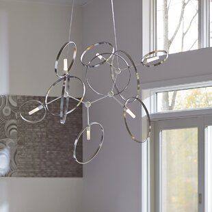 Element Celesse 6-Light Chandelier by Hubbardton Forge