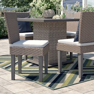 Rockport Patio Dining Chair with Cushion (Set of 4)