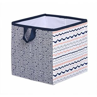 Lovely Olivia Tribal Fabric Storage Cube And Bin