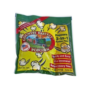 12 oz. Country Harvest Popping Corn Portion Pack (Set of 72)