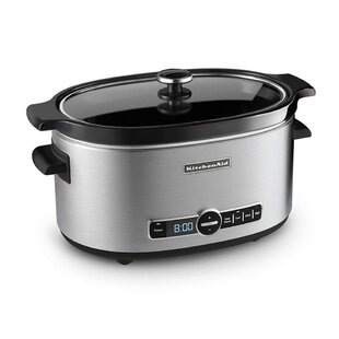 6 Qt. Slow Cooker by KitchenAid New
