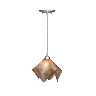 Latitude Run Dale 1-Light Novelty Pendant