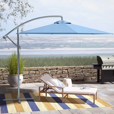 Muhammad Cantilever Umbrella by Beachcrest Home Wonderful