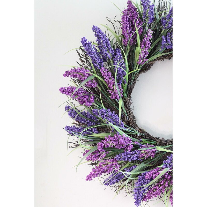 Ophelia co spring 22 plum and artificial heather floral wreath spring 22 plum and artificial heather floral wreath mightylinksfo