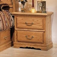 Lucie 2 Drawer Nightstand