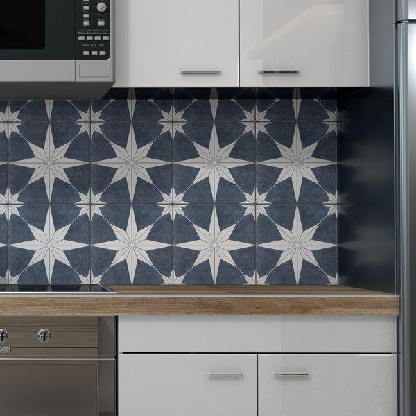 Elitetile Salerno 10 X 10 Porcelain Patterned Wall Floor Tile Reviews Wayfair