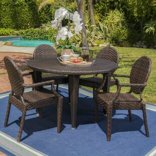 Zivah 5 Piece Dining Set