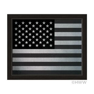 58cdb489411c American Flag Framed Graphic Art