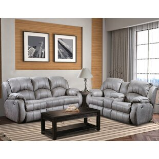 Cagney Power 2 Piece Reclining Living Room Set by Southern Motion