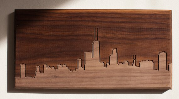 Chicago Skyline Wall Art | Wayfair