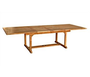 Three Birds Casual Chelsea Extendable Teak Dining Table