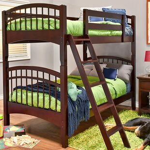 Sandisfield Twin over Twin Bunk Bed by Zoomie Kids