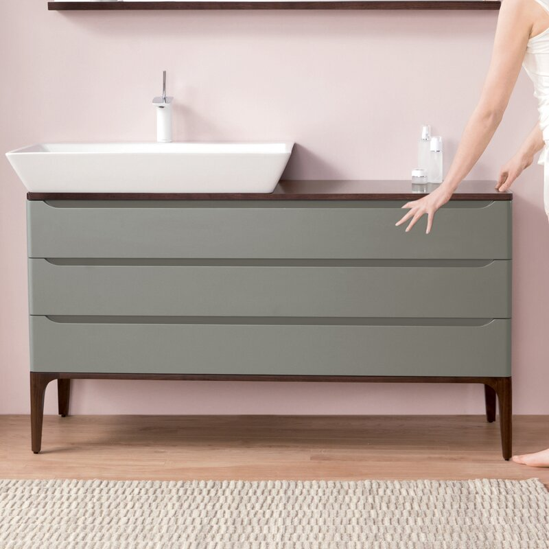 "Ronbow Wide Signature 54"" Single Bathroom Vanity Base Only ..."
