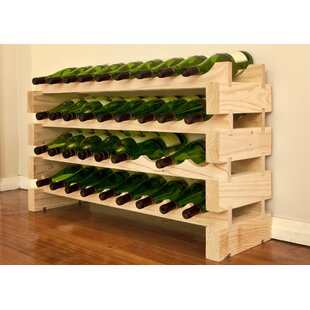 36 Bottle Floor Wine Rack ..