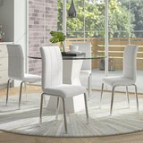 Azaiah Upholstered Stacking Side Chair (Set of 4) by Wade Logan®