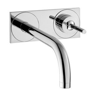 Axor Axor Uno Wall Mounted Faucet with Base Plate