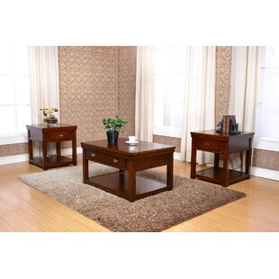 Delania 3 Piece Coffee Table Set