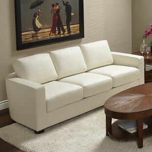 Marquis Top Grain Leather Sofa by Lind Furniture Coupon