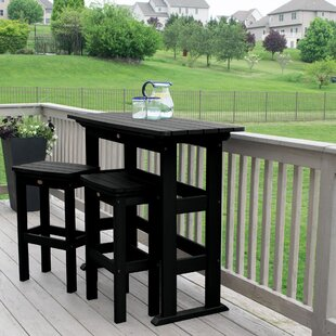 Today Sale Only Amelia Balcony 3 Piece Pub Table Set By Three Posts