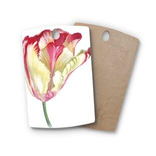 Lydia Martin Birchwood Tip Tulip Cutting Board ByEast Urban Home