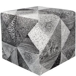 Sumpter Cube Ottoman by Brayden Studio