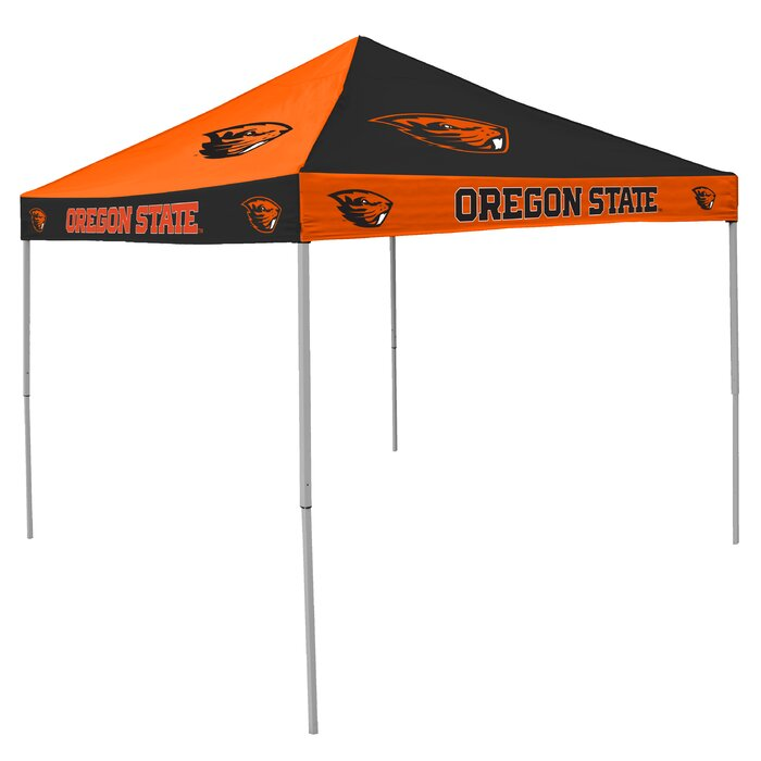 sports shoes 92ab2 8df79 NCAA Collegiate 9 Ft. W x 9 Ft. D Steel Pop-Up Canopy