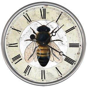 lenox hill bee wall clock